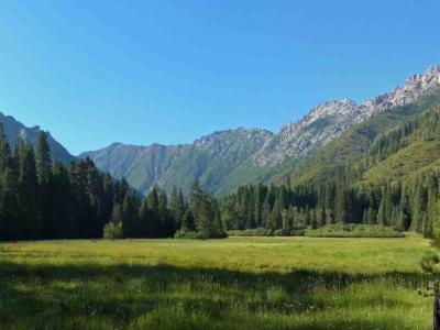 Morris Meadows, Trinity Alps